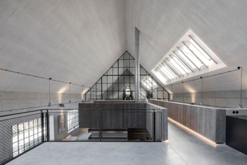 Destilat rediseña las oficinas y bodega de Clemens Strobl