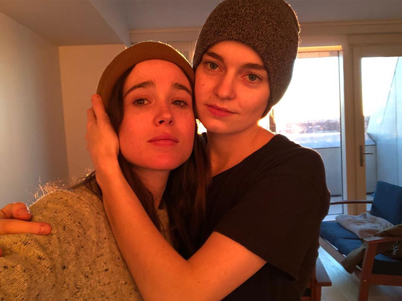 Ellen Page actriz ahora es Elliot Page actor