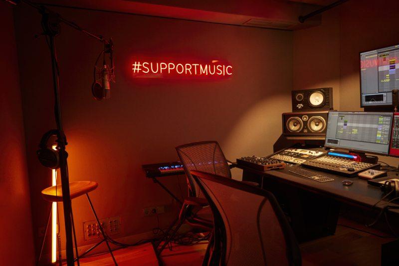 Levi's Music Studio x Delaporte y Sofía Buc