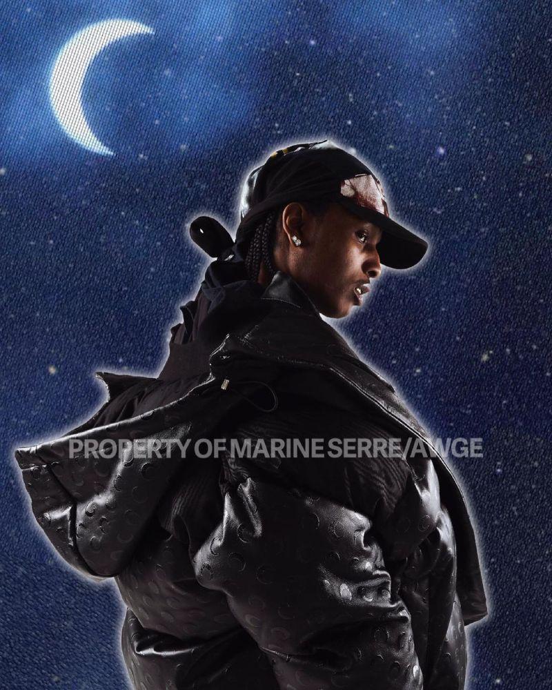 Marine Serre x AWGE, creatividad y upcycling