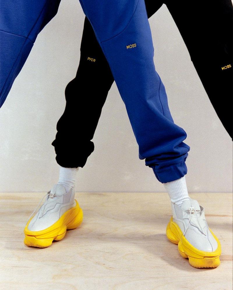 La nueva versión de las sneakers Sculpt de Pyer Moss