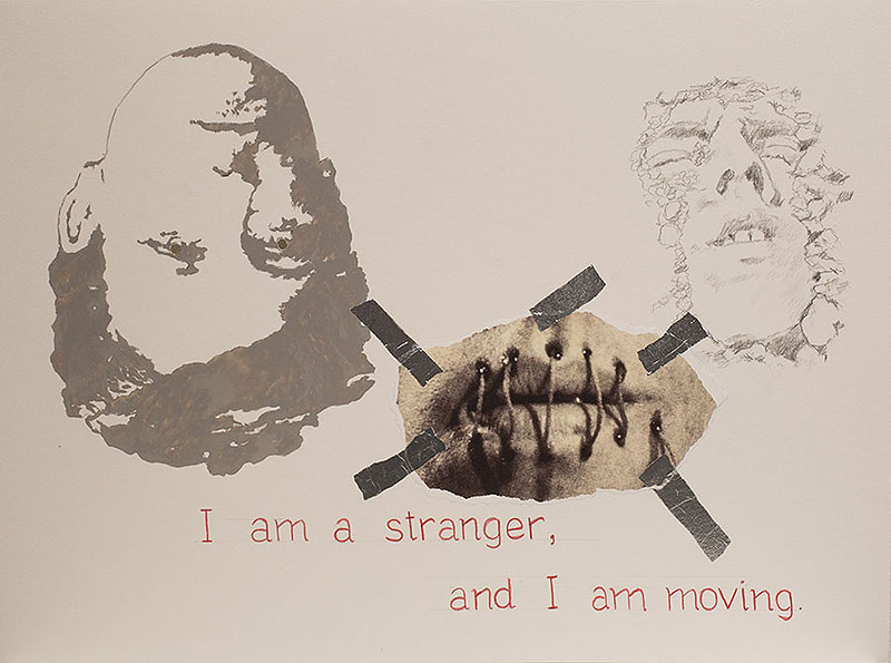 """I Am a Stranger, and I Am Moving"" de Cabello/Carceller"