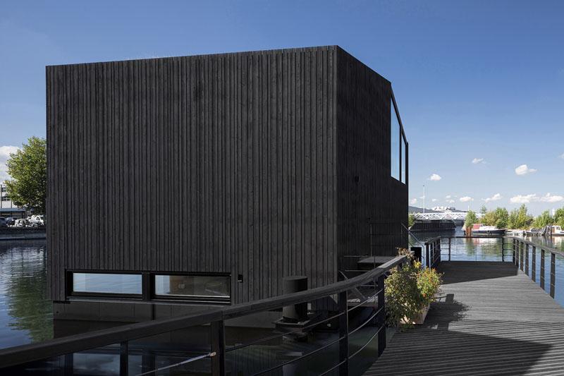 Casa flotante en Ámsterdam por i29 Architects