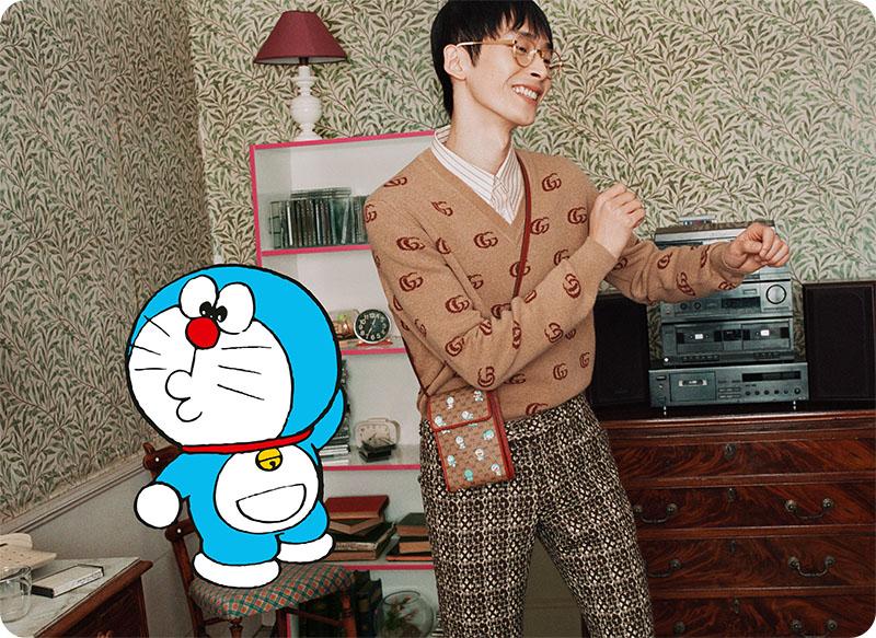 Doraemon x Gucci, la colección más kawaii