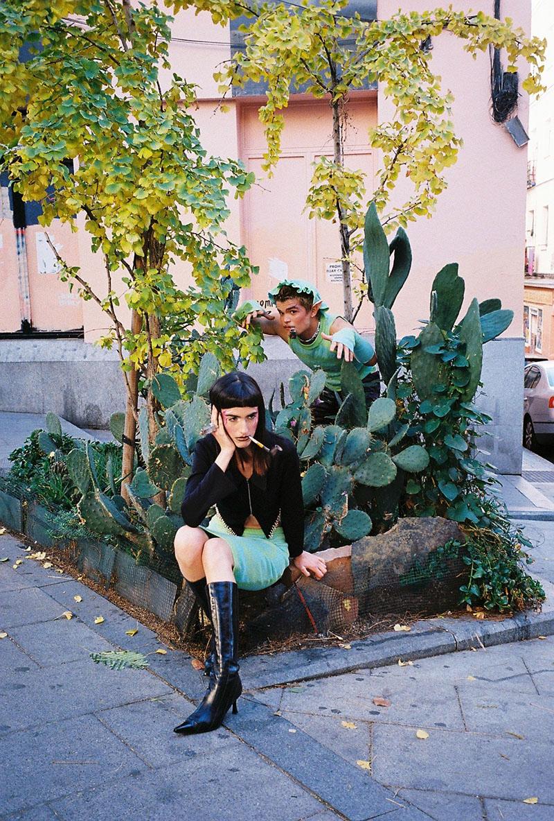 Elena Sohmen muestra su peculiar forma de ver Madrid