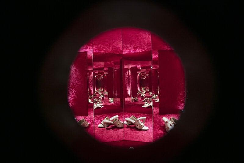 El nuevo significado de Valentino convertido en arte