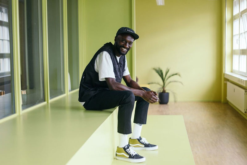 Kwame, el experto en zapatillas masculinas de Zalando