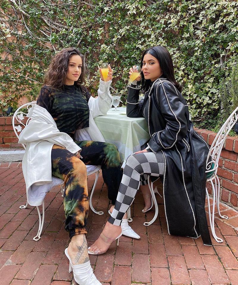 Kylie Jenner ya no es amiga de Rosalía. ¿Por qué?