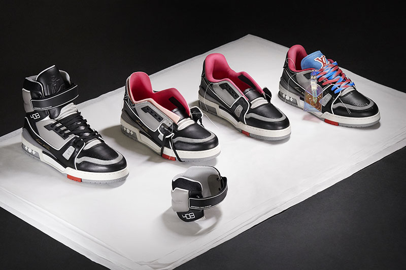 Louis Vuitton LV Trainer Upcycling x Virgil Abloh SS21