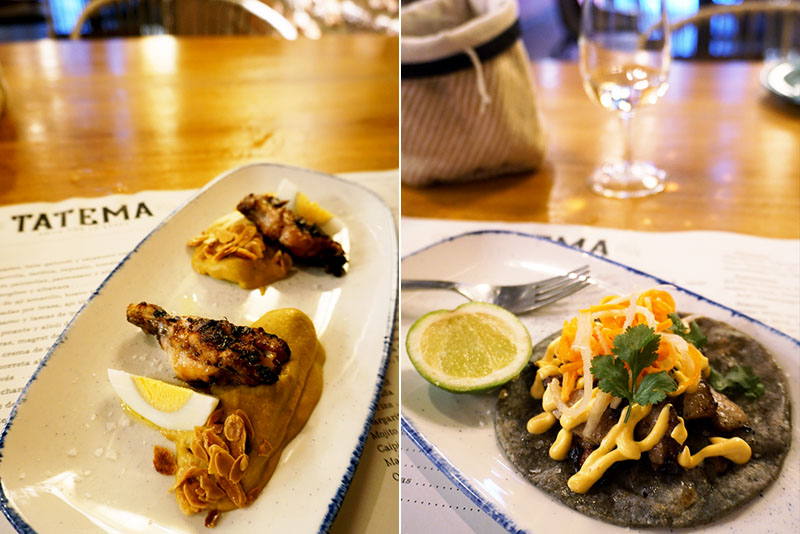 Restaurante Tatema: amor por la brasa y un México lejano