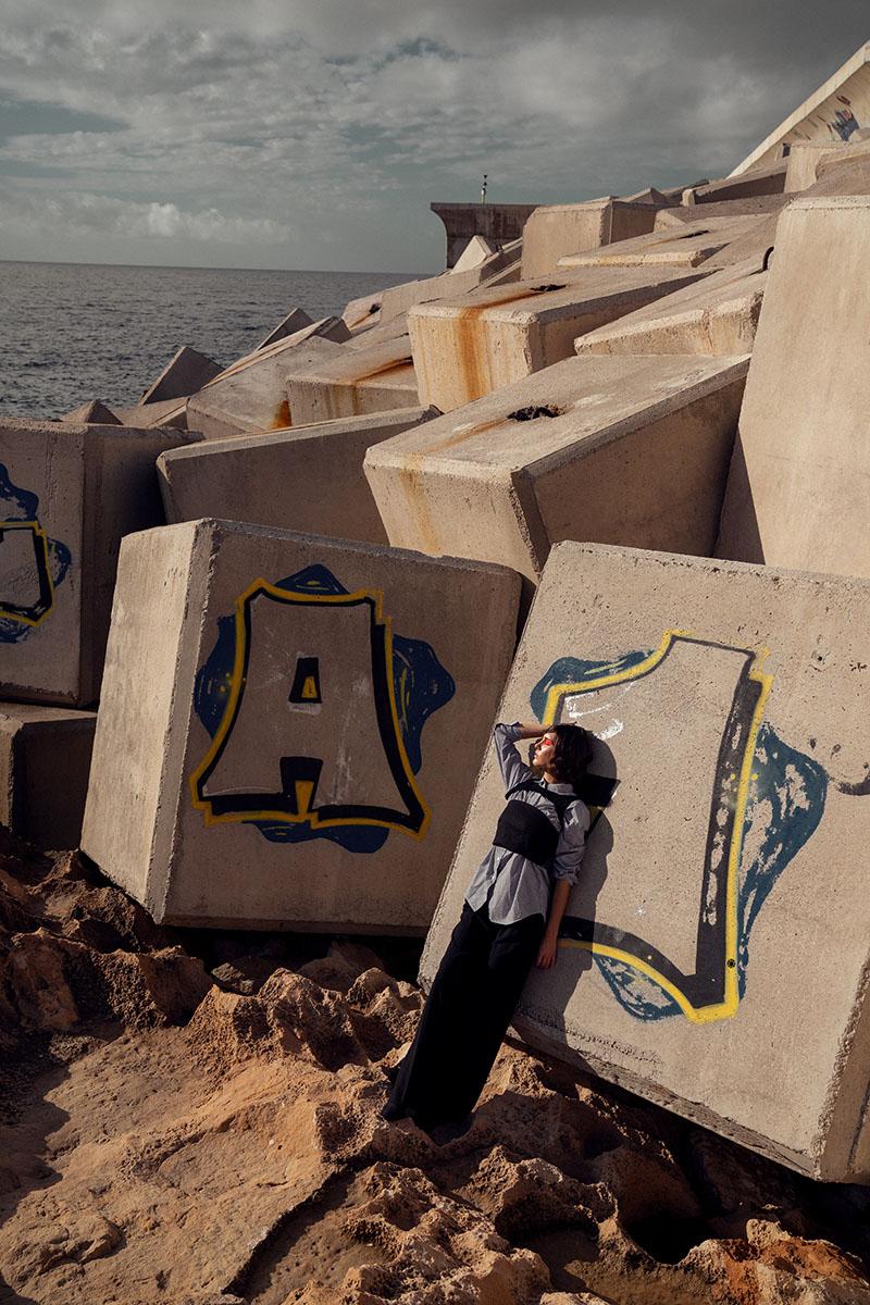 Moda espontánea en el editorial Fuse x Oscar Bueno