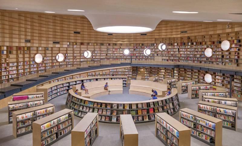 Bibliotheater, el diseño imposible de Open Architecture
