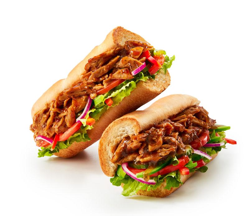 Pollo Teriyaki Vegano de Subway:  así es por dentro