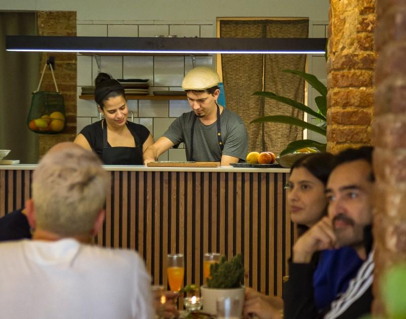 Restaurante Arigato: helados, sake y cocina de aire japonés