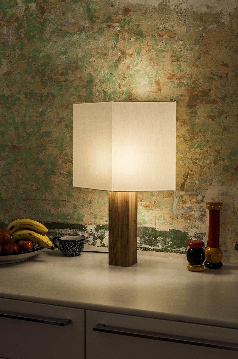 Lámpara Chata de Gofi: clásicas geometrías renovadas