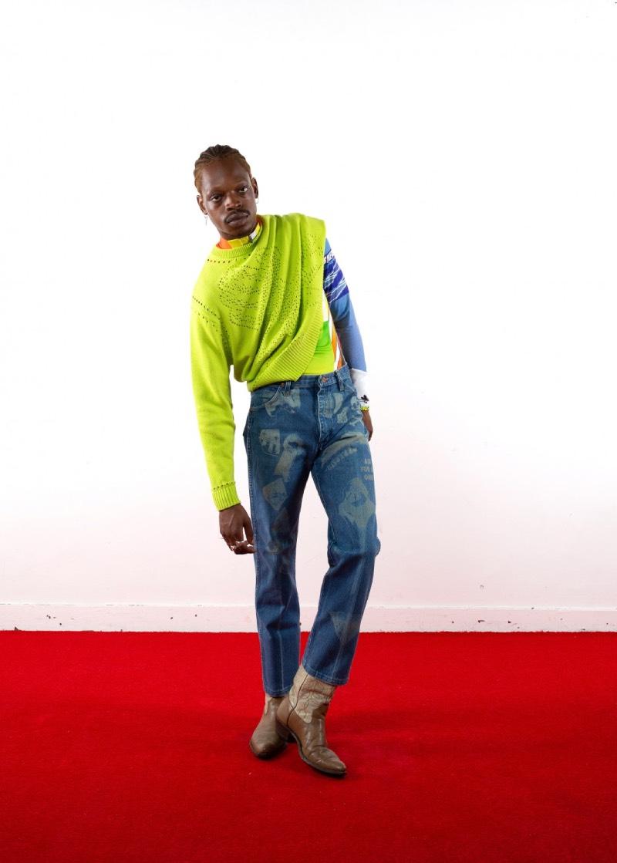 Liam Hodges FW21, streetwear posmodernista en LFW