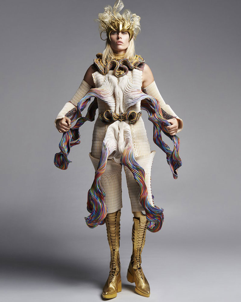 Yuima Nakazato SS21, la moda llevada al siguiente nivel