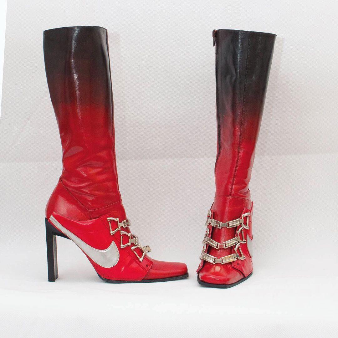 Calzado Upcycling de moda por la diseñadora Ancuta Sarca