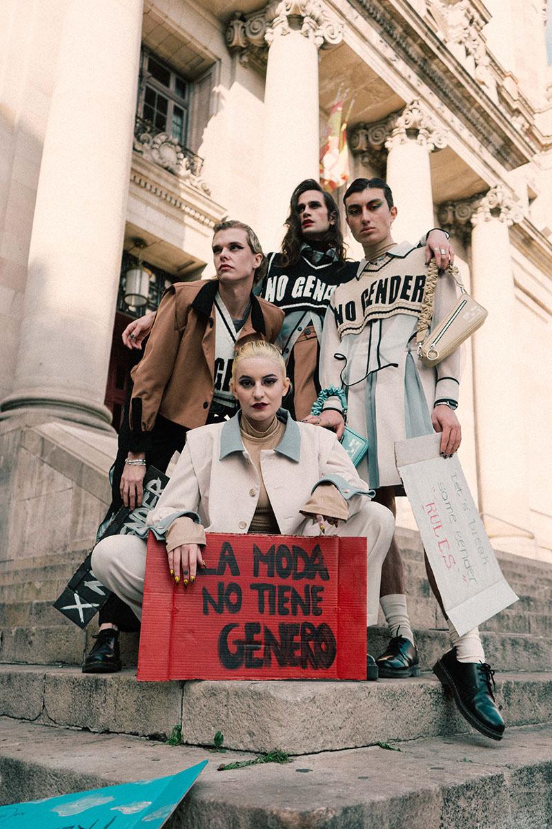 Marcas españolas de moda no binaria: No Gender