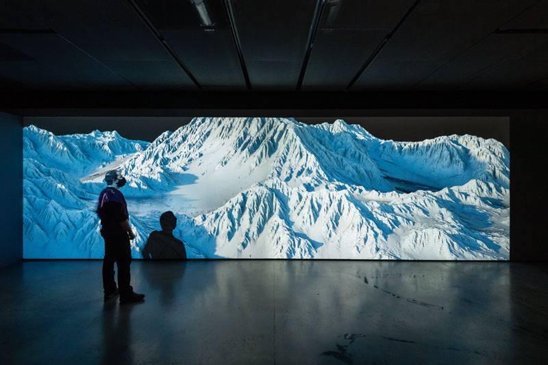 Exposición de Joanie Lemercier en Fundación Telefónica