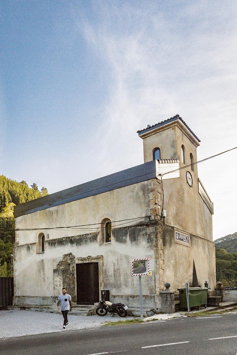 La Iglesia de Tas, habitar un espacio sagrado del siglo XVI