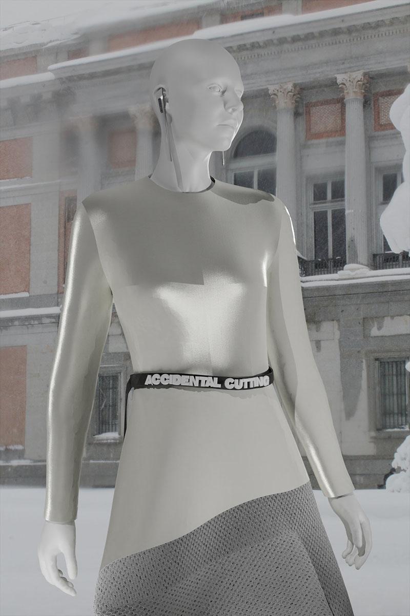 Accidental Cutting FW21 en London Fashion Week