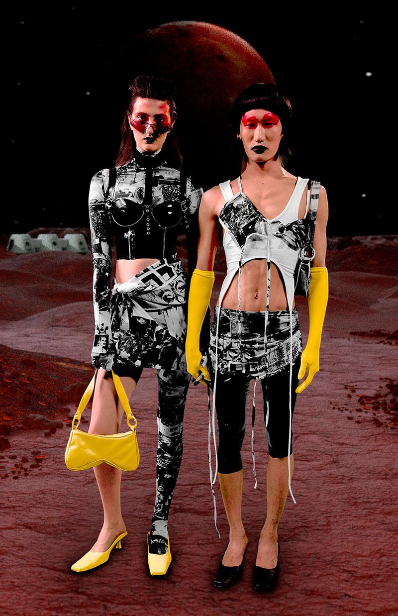 Alvaro Mars FW21 en London Fashion Week