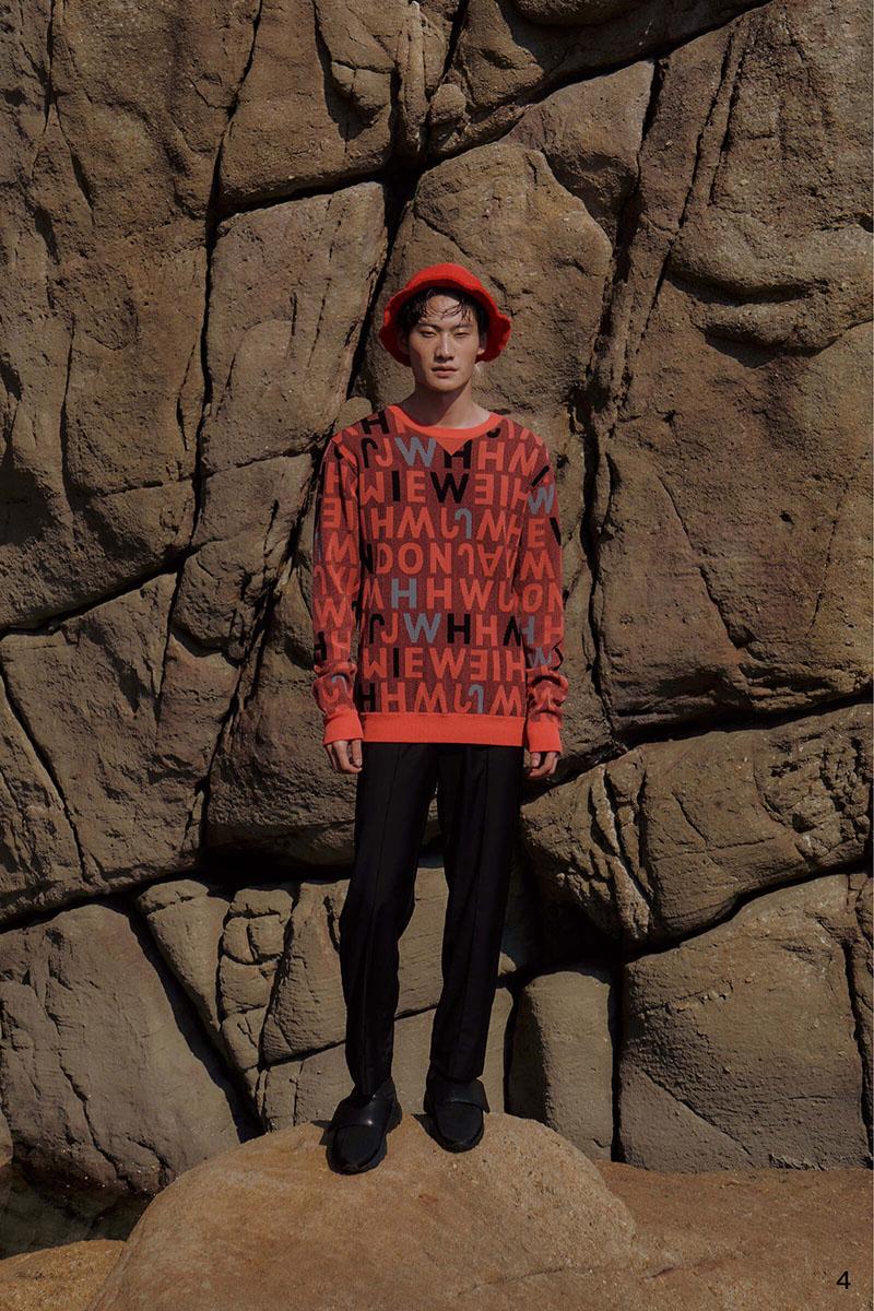 Jamie Wei Huang AW21 en London Fashion Week