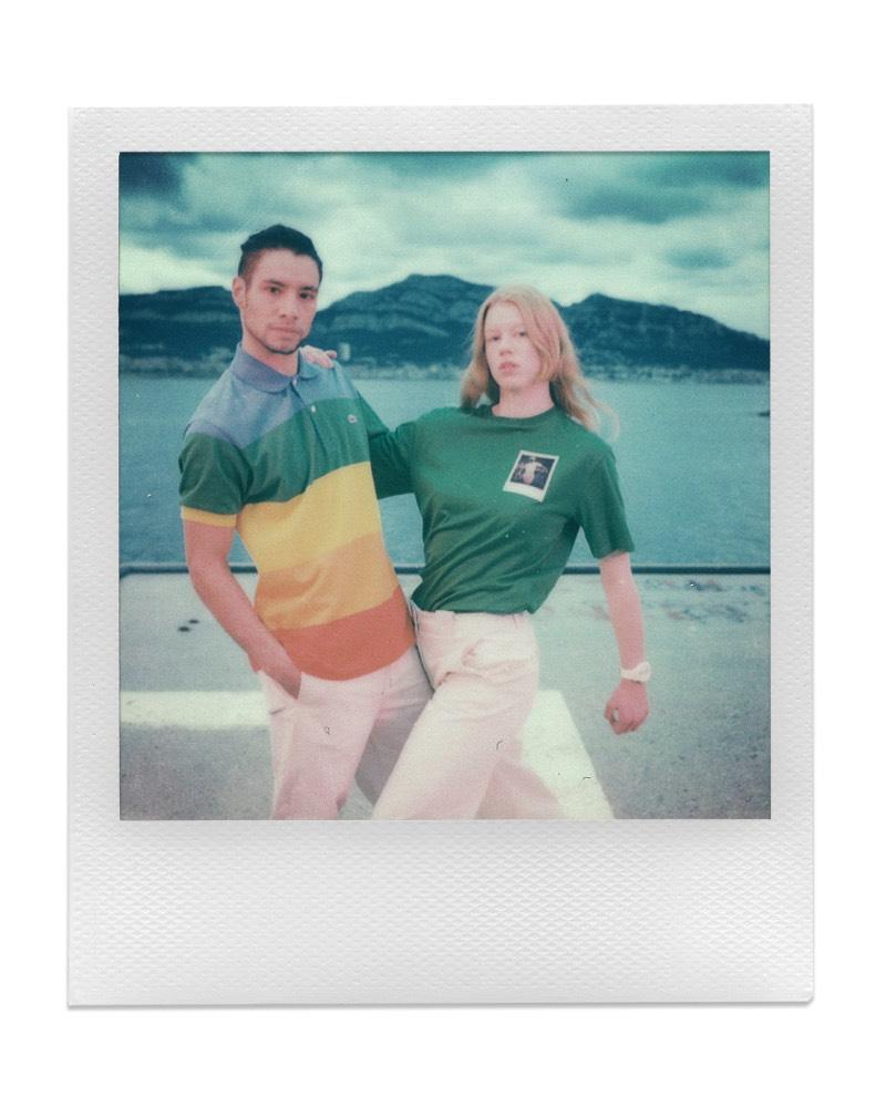 Lacoste x Polaroid: Ready para crear nuevos recuerdos