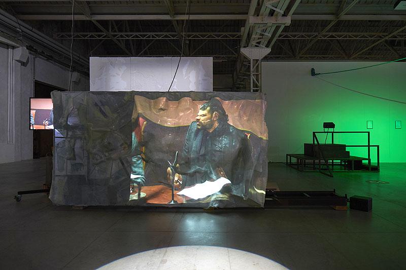 Neïl Beloufa se anticipó a la pandemia con Screen Talk