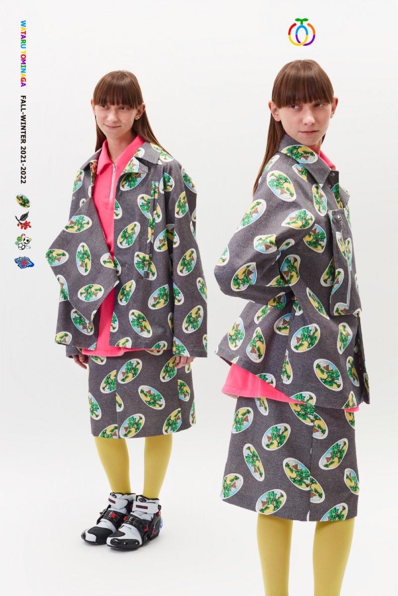Wataru Tominaga FW21: el nuevo vintage, el nuevo cool