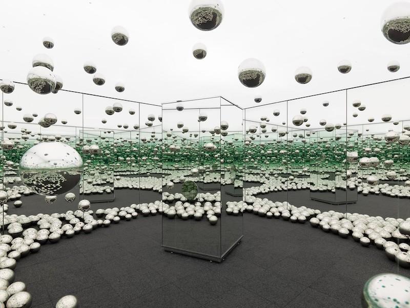 Jardines & lunares, Yayoi Kusama en el NYBG