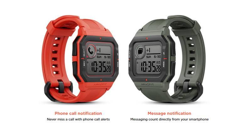 Amazfit Neo, el smartwatch retro de los mejores deportistas