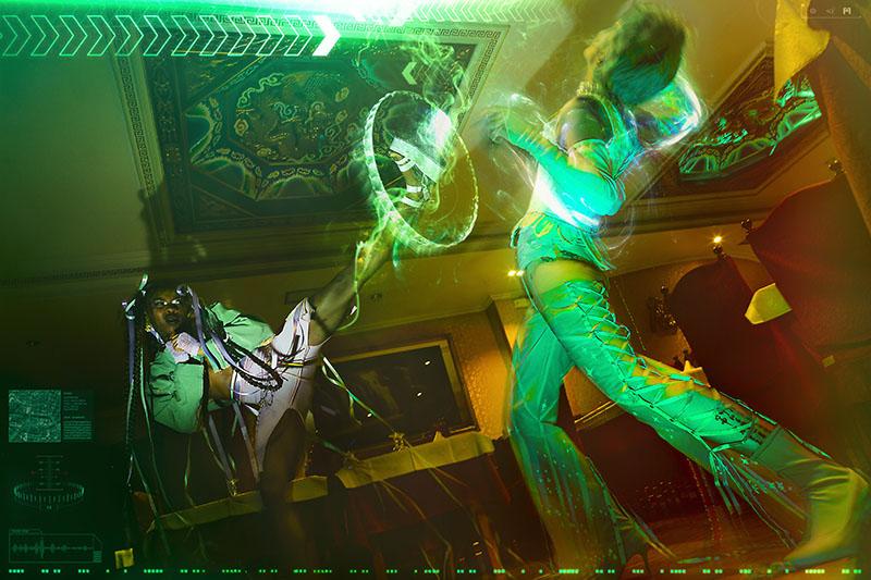 Fotografía de moda en España: Dynasty #chooseyourfighter