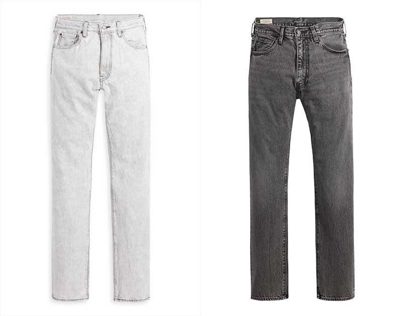 Músicos como John Grvy apuestan por los jeans rectos