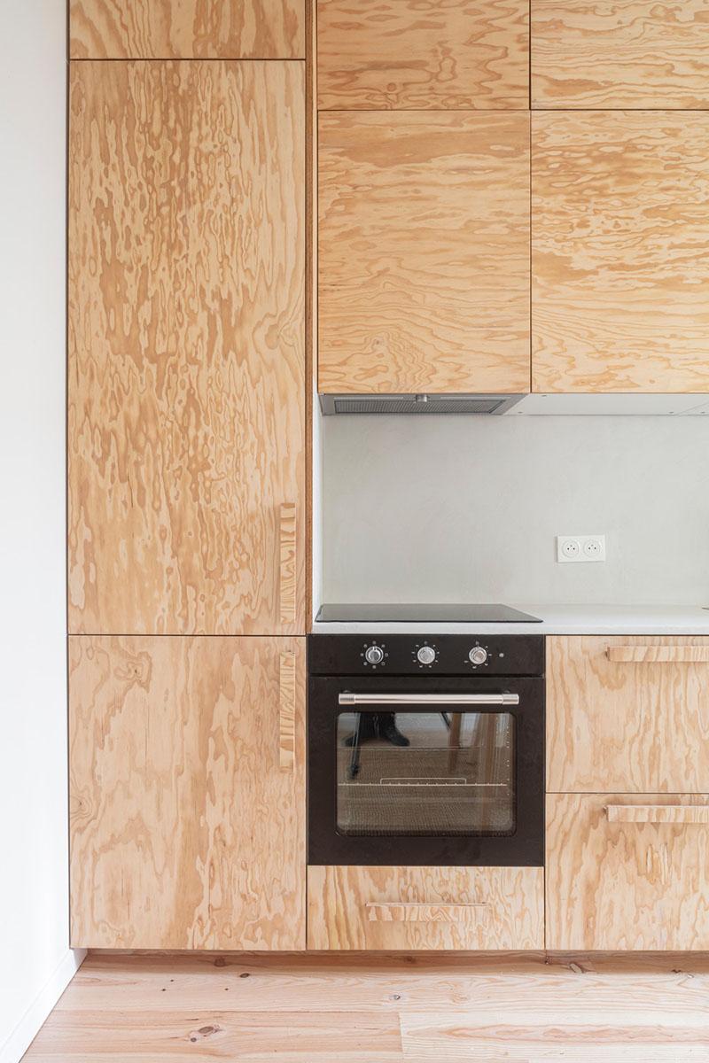 l'Atelier Nomadic Architecture Studio: 50m2 para 5