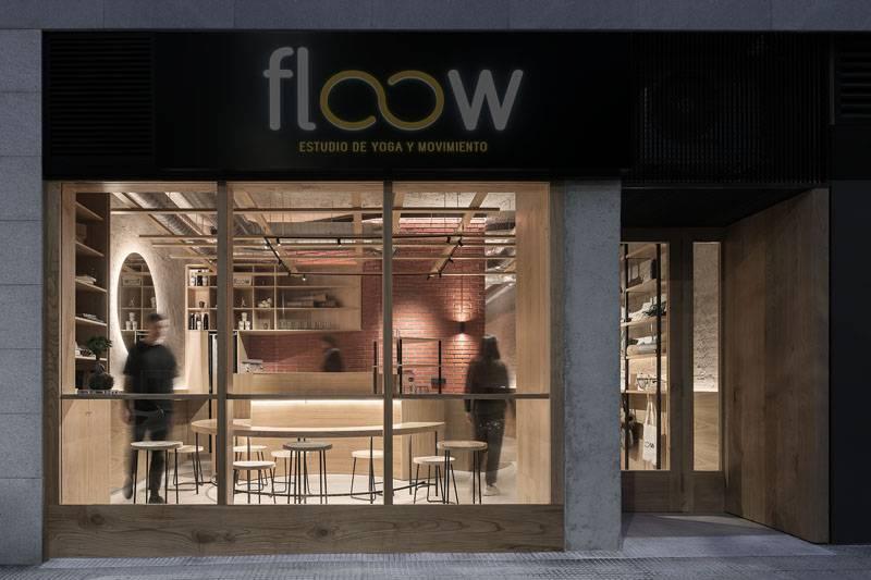Nan Arquitectos presenta su espacio de yoga Flow Estudio