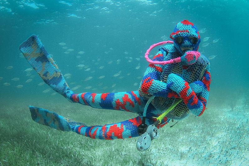 Olek: Locura por el crochet