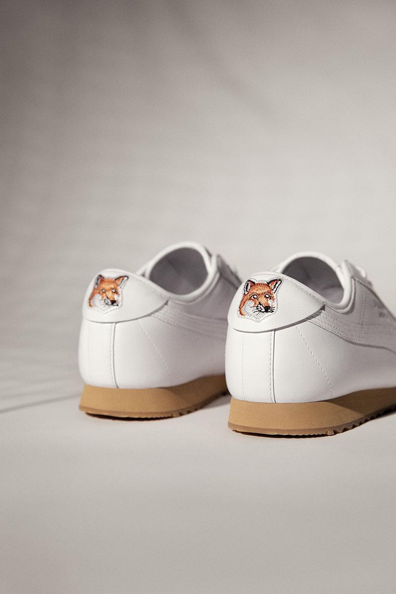 La primera colección de Puma x Maison Kitsuné