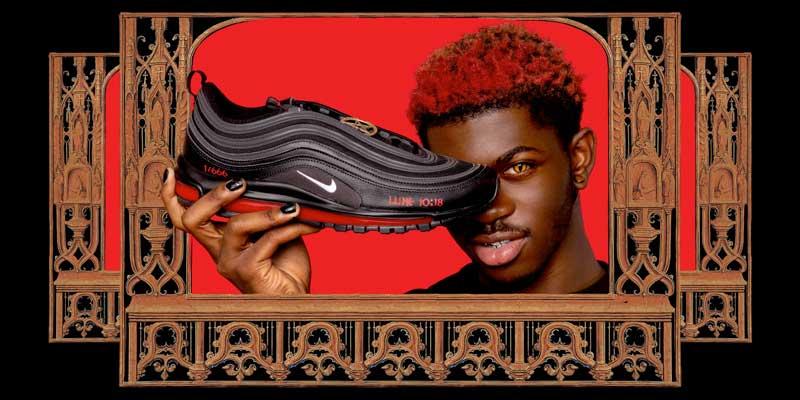 Zapatillas Nike Satan Shoes de MSCHF por Lil Nas X