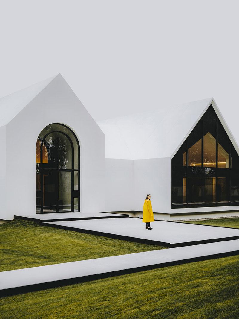 Song Art Museum, un contenedor de arte por Vermelion Zhou
