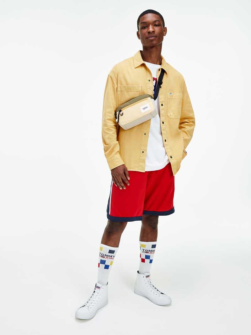 Tommy Jeans Primavera 2021: Streetwear y Mucho Basket