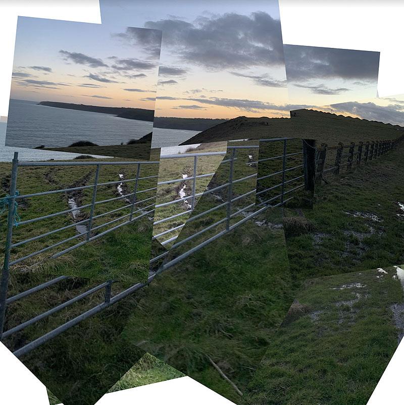 'Artifice 2021'. Land art en el Castillo Lismore de Irlanda