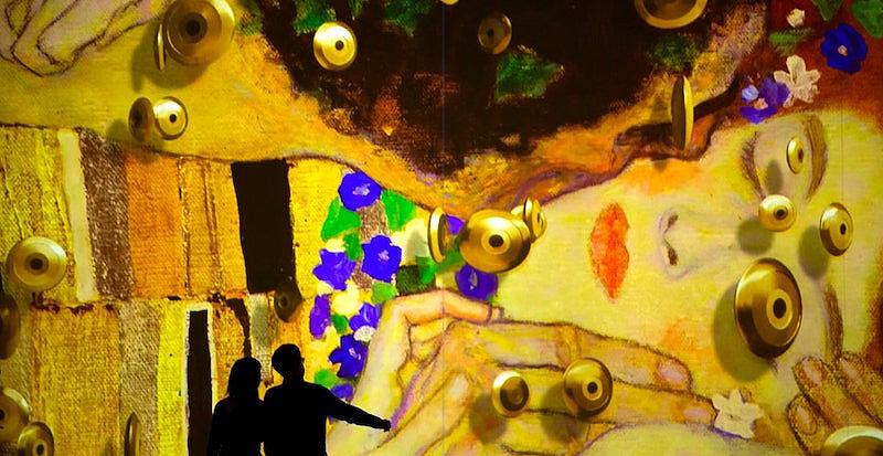 Meterse en una pintura. 'KLIMT: la experiencia inmersiva'