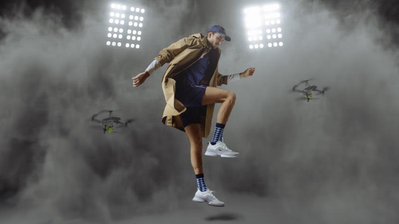 Las nuevas zapatillas de Lacoste: back in the tennis court