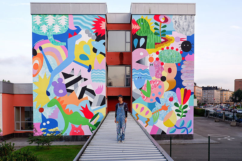 Mina Hamada: Fantasía geométrica