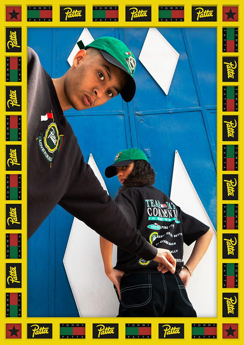 Patta x Tommy Hilfiger: visibilizando la diáspora africana