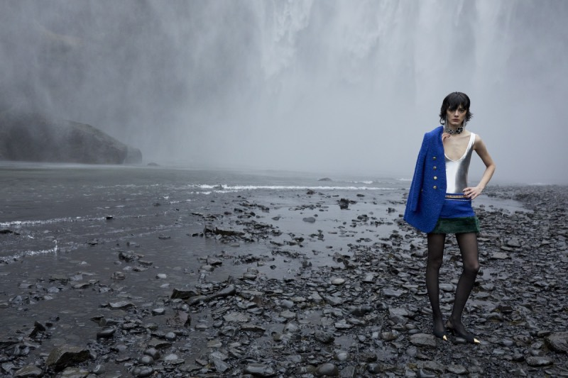 Saint Laurent FW21: entre los silencios del glaciar