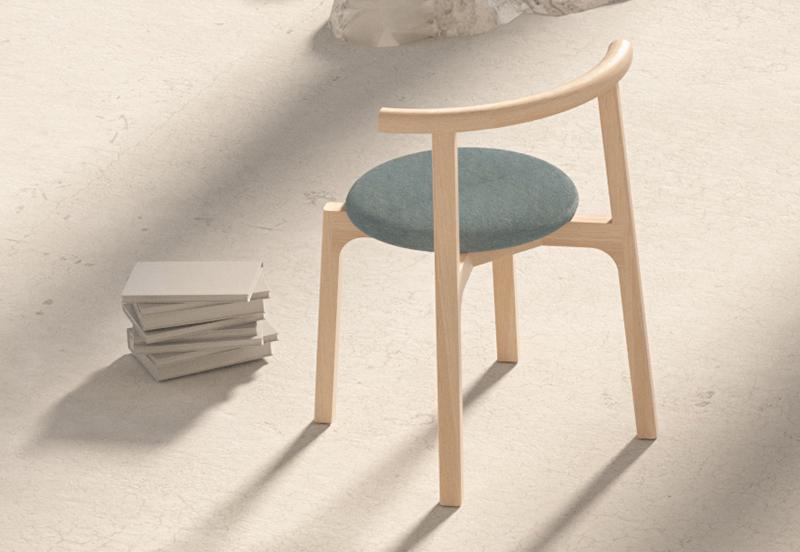 Silla Carlo, un diseño de Studioestudio para Missana