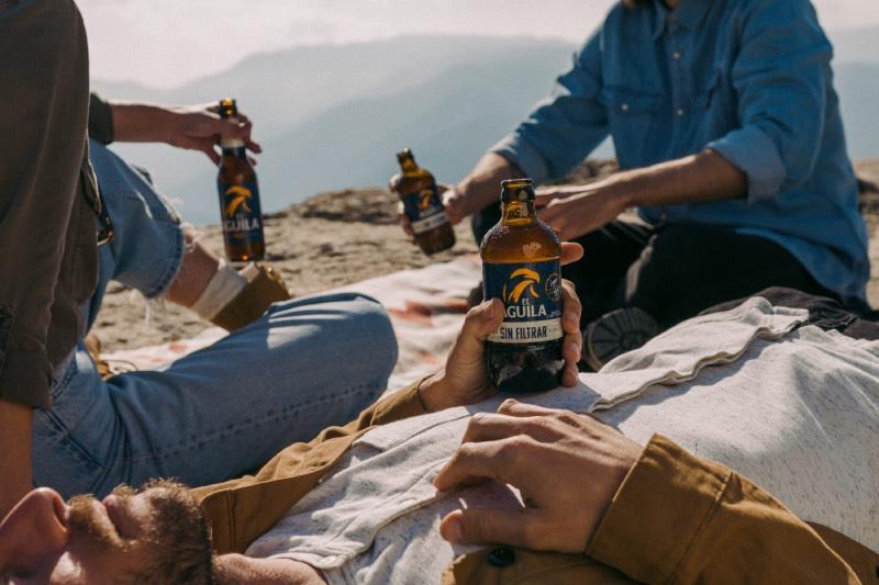 El Águila: cerveza sin filtrar para gente sin filtros